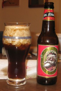 A Dead St Nikolas Bock (with spillage)