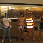 Nearly Naked Mile Costume Line Up