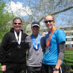 The Medallistas: #3 Mandy #1 Robin #2 Sara
