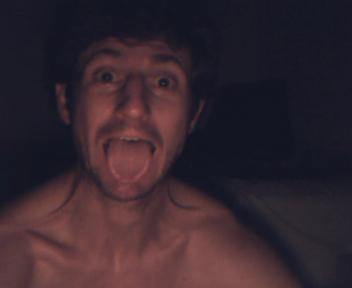 Goofing for the webcam
